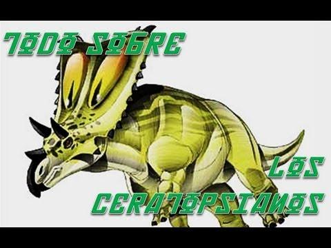 Hablando de: Los Tricerátops y los Ceratópsidos.