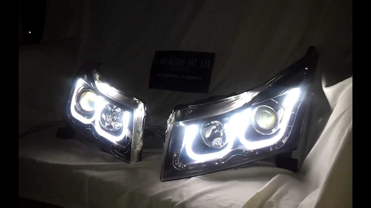 Bmw Style Chevrolet Cruze Headlight With Projector Original By