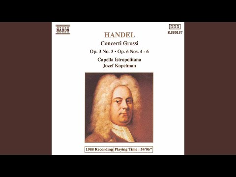 Concerto Grosso In D Major, Op. 6, No. 5, HWV 323*: IV. Largo
