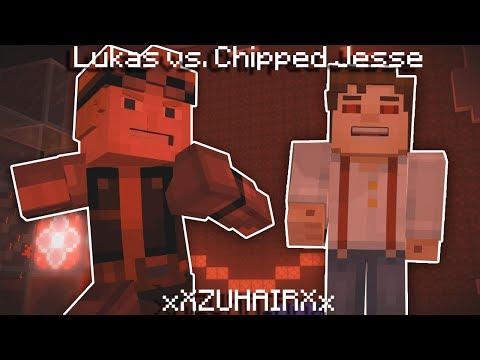 Lukas vs Chipped Jesse | Minecraft Story Mode