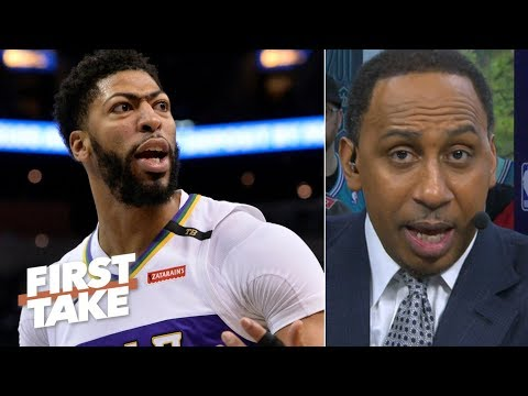 Anthony Davis botched his trade demand to the Pelicans – Stephen A. | First Take Mp3