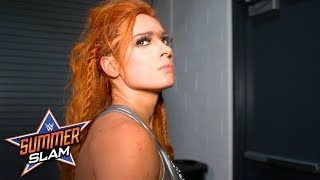Becky Lynch storms out of SummerSlam after attacking Charlotte Flair: Exclusive, Aug. 19, 2018