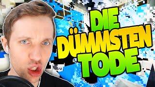 DIE DÜMMSTEN TODE in Minecraft