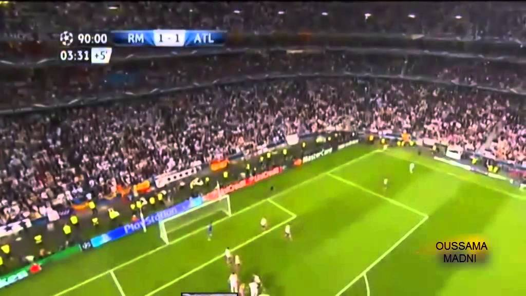 اهداف مباراة ريال مدريد واتلتيكو مدريد 4 1 2014 5 24 نهائي