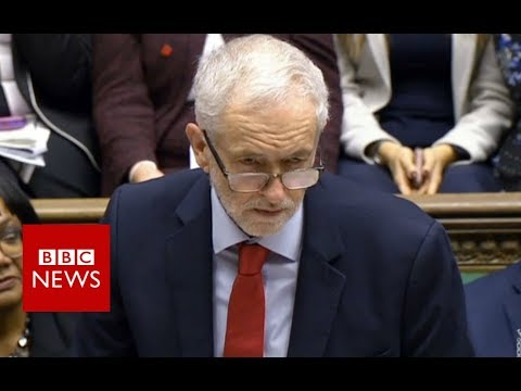 Labour leader Jeremy Corbyn's response to the PM's statement - BBC News