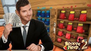 Как я стал успешным бизнесменом - Shoppe Keep 2