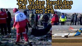 Urgente: Queda de avião no Irã deixa 176 Mortos #Irã #Aviãocai #EstadosUnidos #Ucrânia #Teerã