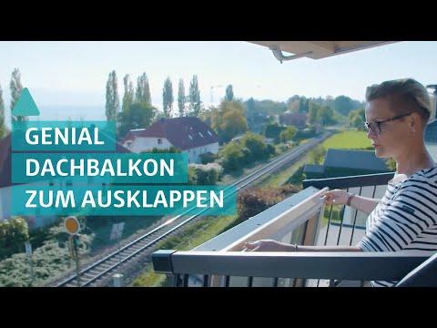 Cabrio Fenster: Dachfenster Und Balkon In Einem - Modernes Dachfenster Mit Cabrio-Feeling