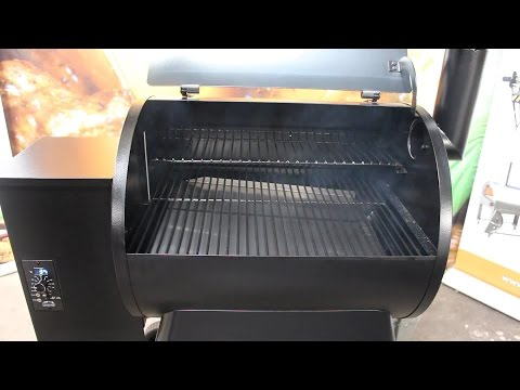 Traeger Pellet Grill and Smoker Initial Firing Instructions
