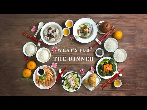 The Lunar New Year's Eve Feast - Something To Drool Over