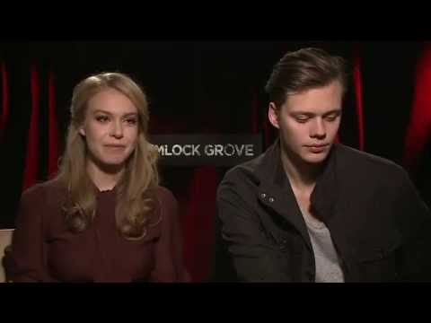 Hemlock Grove  with Bill Skarsgård and Penelope Mitchell