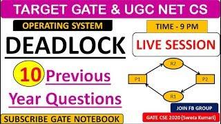 Operating Syste Deadlocks Operatingsystem Gate Ugcnet Lecture