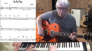 On The Trail - Jazz guitar & piano cover ( Ferde Grofe )