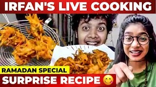 Irfan's First Ever Live Cooking Show With VJ Parvathy | Irfan's View