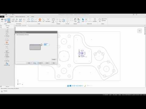 FeatureCAM Getting Started - Tutorial - Intro to Geometry and Features