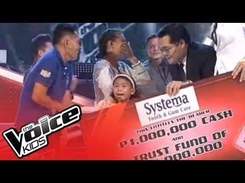 Little Superstar Lyca Gairanod wins Voice Kids PH