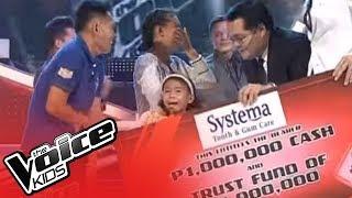 Repeat youtube video Little Superstar Lyca Gairanod wins Voice Kids PH