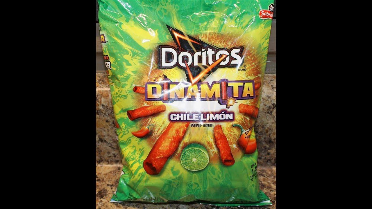 Doritos DINAMITA Chile Limon Food