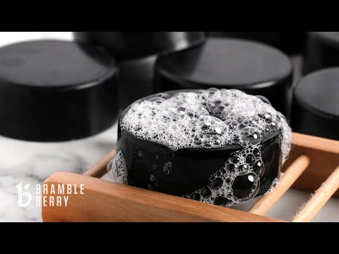 Anne-Marie Makes Charcoal Soap With Melt & Pour