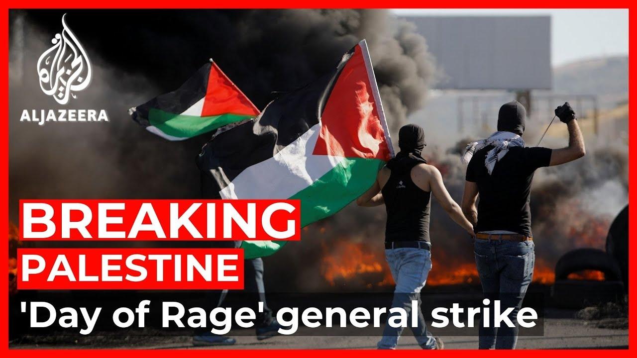 Download Palestinians strike across West Bank, Jerusalem to protest Israeli assaults