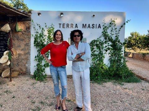 WellVille TV with Ulises at Terra Masia Organic Farm Ibiza