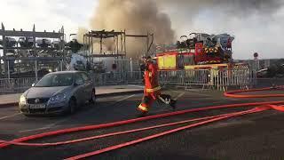 Retour sur l'incendie dans port de Marseille bateaux en feux