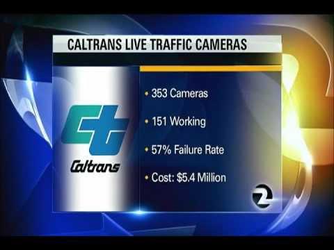 CALTRANS BROKEN CAMERAS News Story 8-12