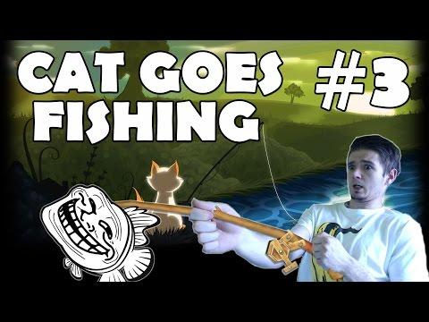Cat Goes Fishing - #3 - Žralok?!