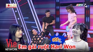 Hari Won lôi em gái ruột tham gia gameshow, Trường Giang phán