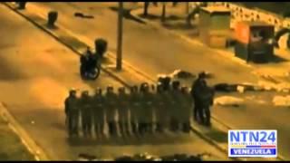 GNB reprimió protesta en Guarenas, allanó ilegalmente y disparó a los edificios