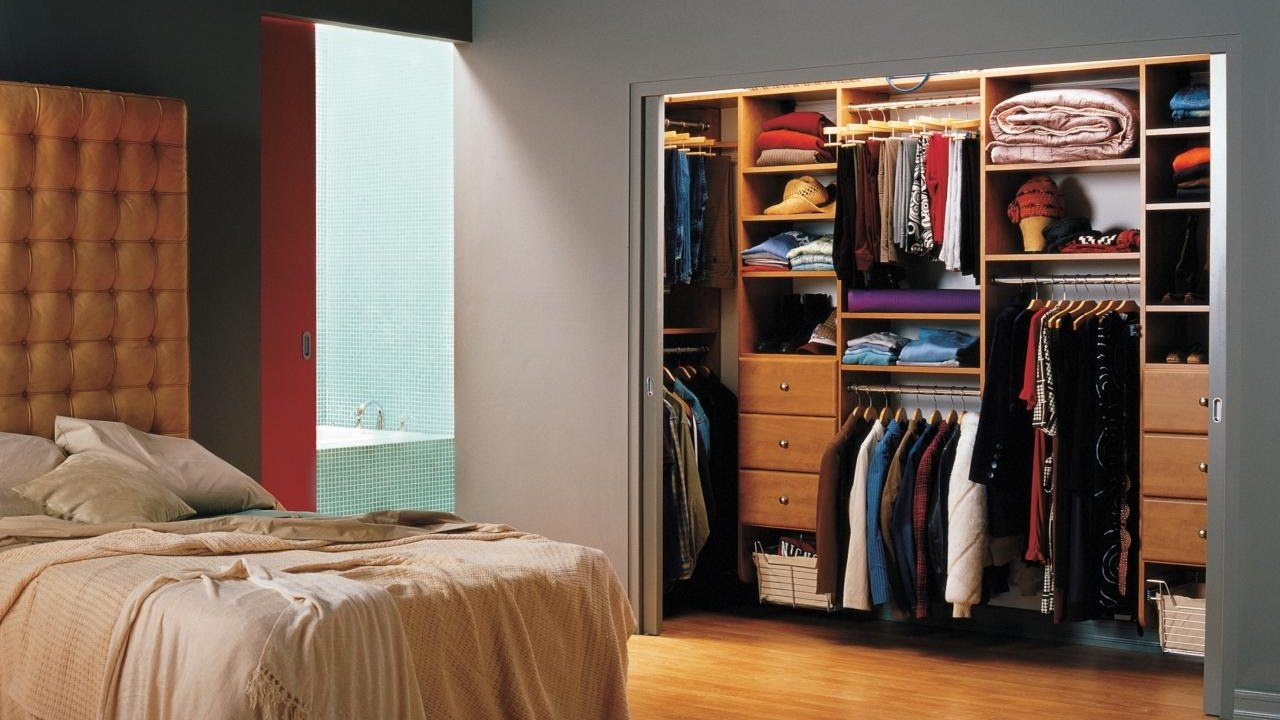 Adding a closet to a small bedroom youtube - Closet for small room ...