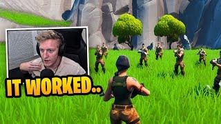 Tfue *CREATES* New Girls vs Guys DEFAULT SKIN WARS in Fortnite!
