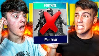 QUIEN PIERDA ELIMINA FORTNITE: Battle Royale!! - Agustin51
