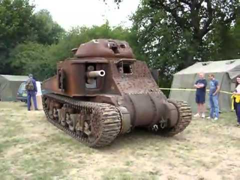 Очень старинный танк.