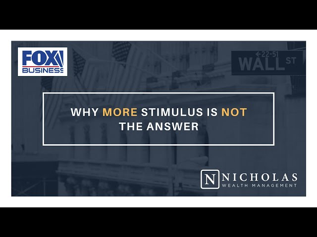 Why More Stimulus is NOT the Answer