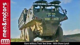 Giant Military Truck Test Drive - Alvis Stalwart - With Shane Lynch