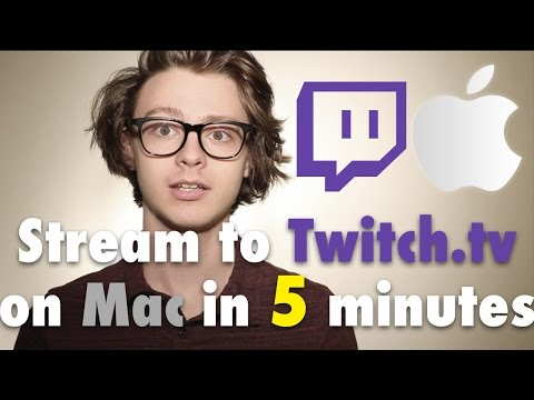 How To Stream Any Game To Twitch.tv On MAC Using OBS In Only 5 Minutes - A Step By Step Guide