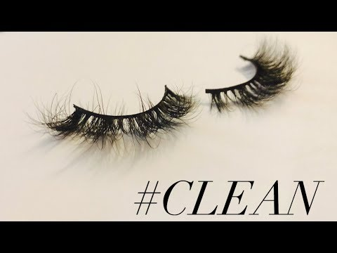 How To: CLEAN YOUR MINK LASHES