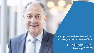 A message to Altran shareholders from Paul Hermelin, Chairman and CEO of the Capgemini Group