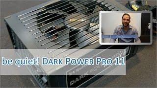 Cebit 2015: be quiet Dark Power Pro 11 Hands on (german/HD)