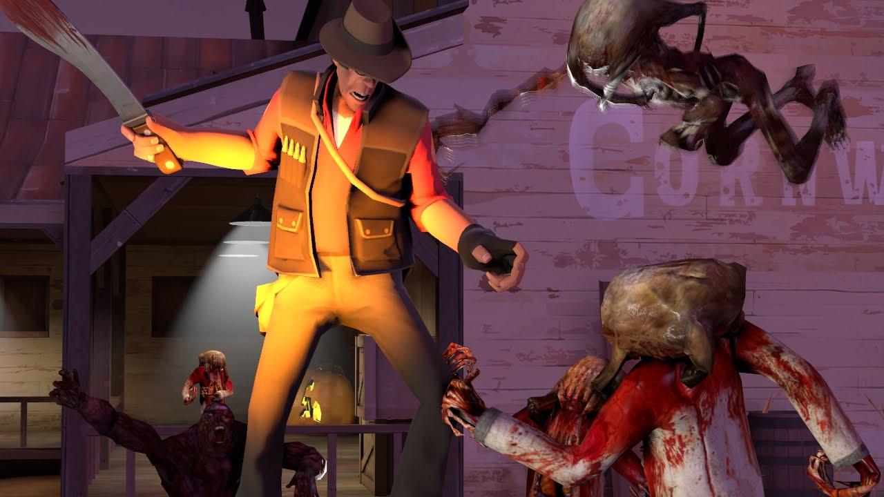 Team Fortress 2 VS Zombies Part 2 (Season 1) - YouTube