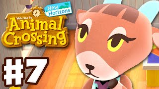 Crafting with Pashmina! Loan Repaid! - Animal Crossing: New Horizons - Gameplay Walkthrough Part 7