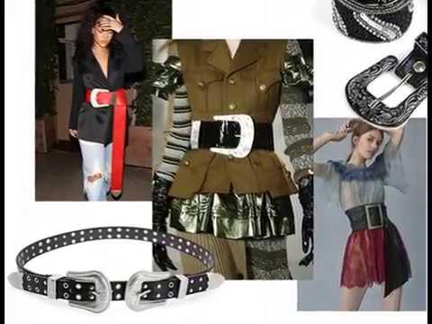 Женские кожаные ремни. Модные стильные пояса интернет магазин