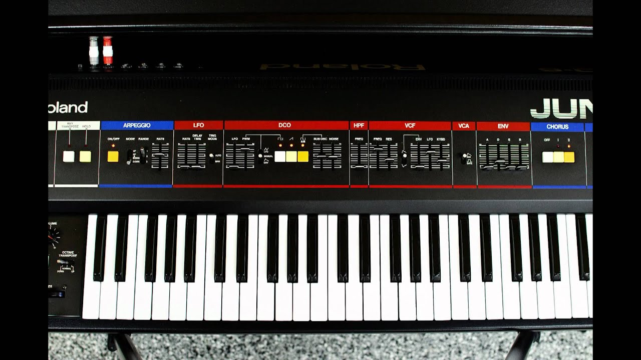 Roland Juno 6 (Juno 60) - YouTube