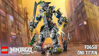 Lego Ninjago Hunted: 70658 Oni Titan Set Review