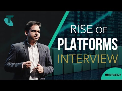 The Rise of Platforms - Interview at Telstra Australia