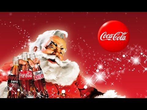 coca cola und der weihnachtsmann getr nke gigant im. Black Bedroom Furniture Sets. Home Design Ideas