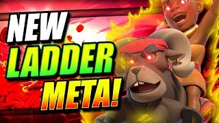 Clash Royale - New Ram Rider Freeze Control Deck for Trophy Pushing...