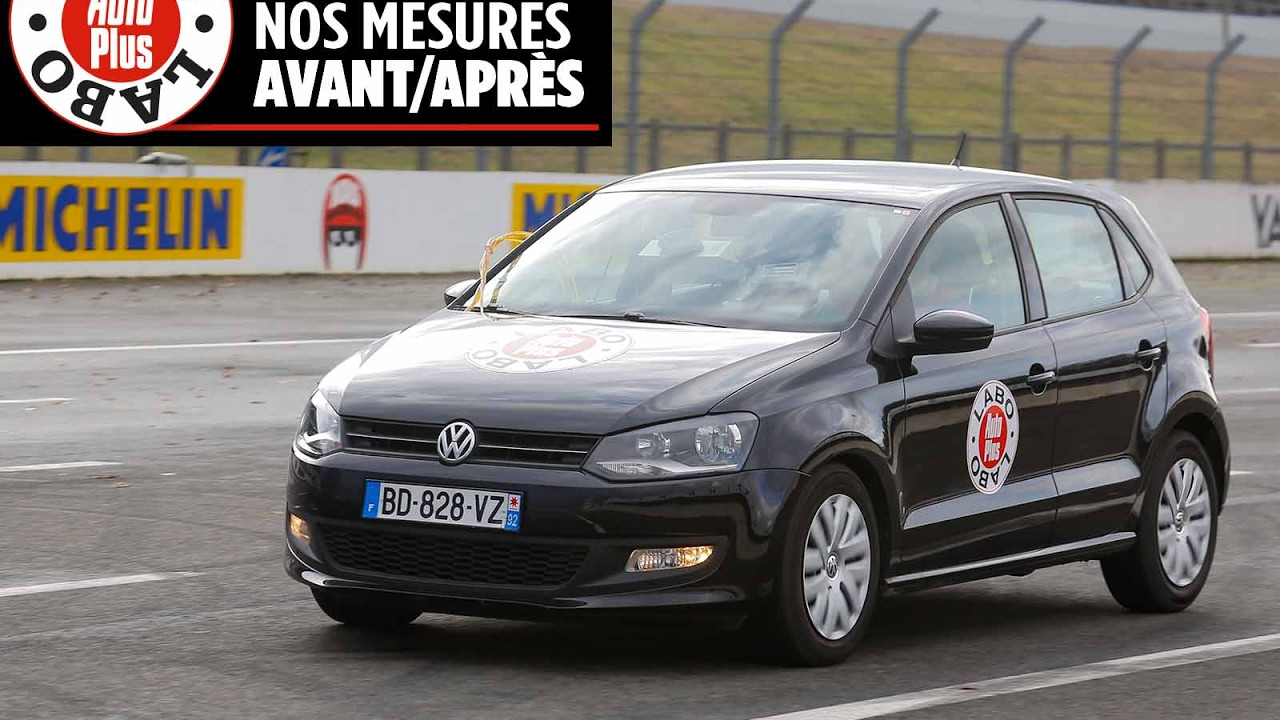 volkswagen polo 1 6 tdi 90 les mesures avant apr s rappel youtube. Black Bedroom Furniture Sets. Home Design Ideas
