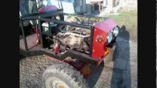 traktor škoda 4x4